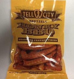 Tell City Tell City Pretzels, Honey BBQ, 3.8oz.  Bag