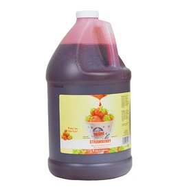 Sno-Kone Syrup, Strawberry 1Gallon