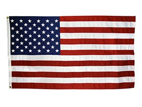 American Flag Flags, 2'x3' American Flag (Nylon) Each