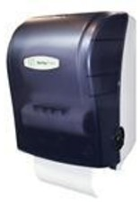 Dispenser, Translucent Black MHF Roll Towel Dispenser