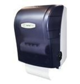 Dispenser, Translucent Black MHF Roll Towel Dispenser