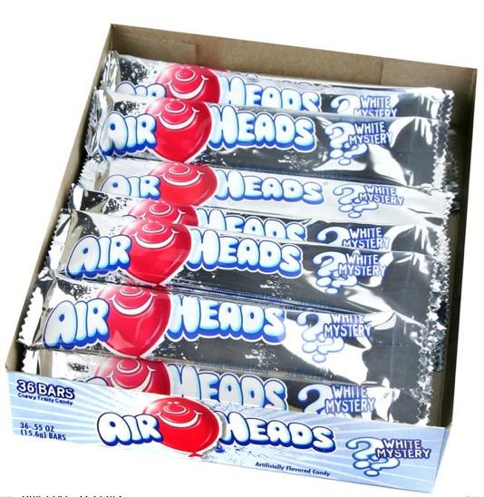 Airheads, White Mystery 36/.55oz. Box