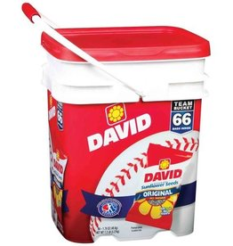 David's Sunflower Seeds, 60ct. Bucket