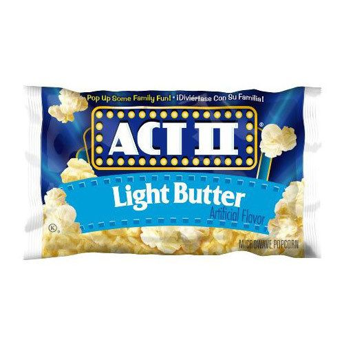 Act II Popcorn, Lite Butter 36ct. Case