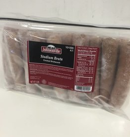 Johnsonville Stadium Brats 5:1, 5lbs. Bag