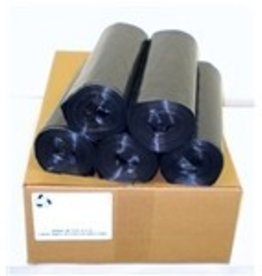 Trash Bags Can Liner, 40x46 (1.2mil.) 45 Gallon Black 100ct. Case