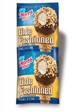 Ice Cream, Old Fashioned Vanilla Cone 24ct. Case