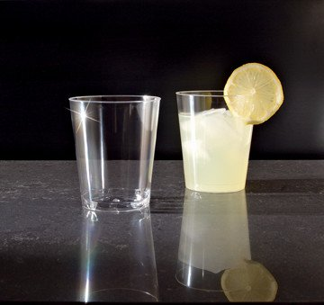 Cups, Plastic Clear Tumblers 10oz. 25/20ct. Case
