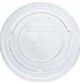 Souffle Lids, 4oz. Clear Vented Lid 20/125ct. Case