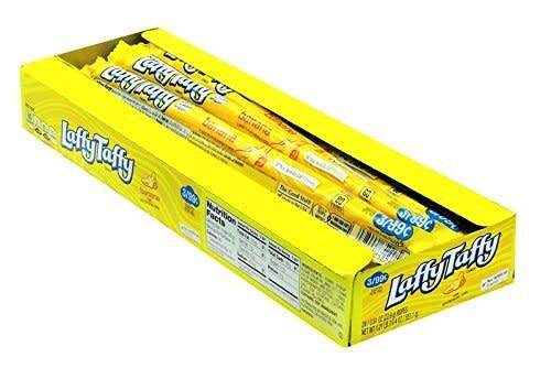 NESTLE USA INC Laffy Taffy Rope,  Banana 24ct. Box