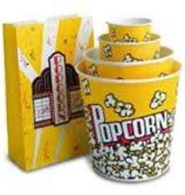 Popcorn Tub, 130oz. (VP130) 6/25ct. Case