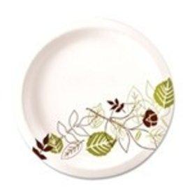 """Dixie Food Service Plates, 6"""" Paper Dixie 4/250ct. Case"""