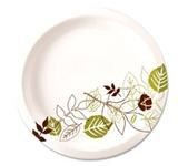 """Dixie Food Service Plates, 9"""" Paper Dixie 8/125ct. Case"""
