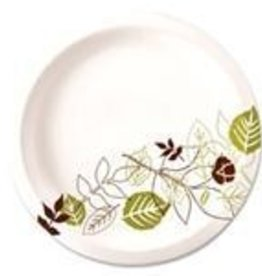 "Dixie Food Service Plates, 9"" Dixie Paper Plate 125ct. Sleeve"