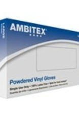 Empress Gloves, Powdered Vinyl, Large 100ct. Box