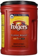 Folgers Classic Roast 48oz. Canister