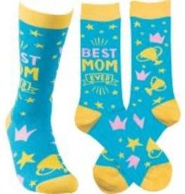 Socks, (Best Mom) Socks 1 Pair