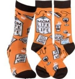 Socks, (Mom Life) Socks 1 Pair