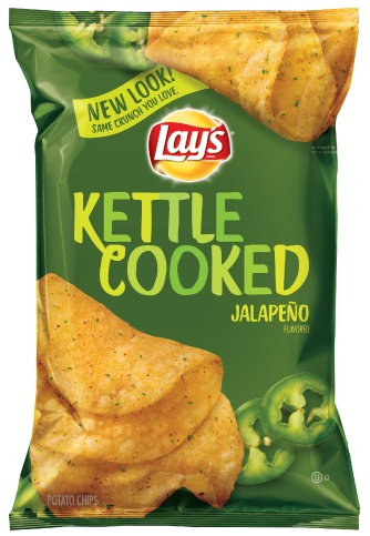 FRITO-LAY/LARGE SINGLE SERVE Lays Jalapeno Kettle Cooked, LSS Chip