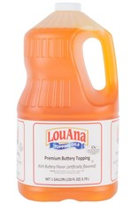 VENTURA FOODS LLC Popcorn Oil, Lou Ana Buttery Topping 4/1gal. Case