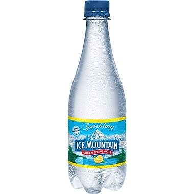 Ice Mountain Sparkling Lemon Water 24/16.9oz. Case
