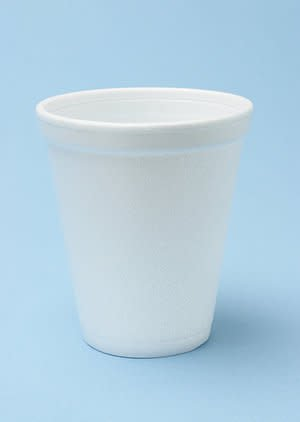 Dart Container Cups, 12oz Foam 12J12 1000ct Case