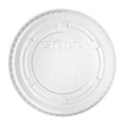 Souffle Lids, 2oz. Clear Vented Lid 50/50ct. Case