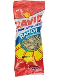Sunflower Seeds, David's Ranch Seed 12/1.62oz. Case