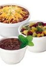Dart Container Food Cont., 6oz. Styrofoam Bowl (6B12) 20/50ct. Case