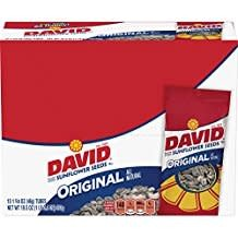 Sunflower Seeds, David's Original Seed 12/1.62oz. Case