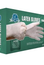 Gloves, Powdered Latex Large 10/100ct. Case