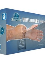 Gloves, Powdered  Vinyl, X-Large 10/100ct. Case