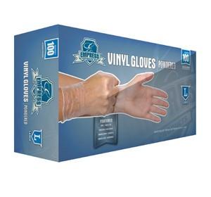Gloves, Powdered Vinyl, Large 10/100ct. Case