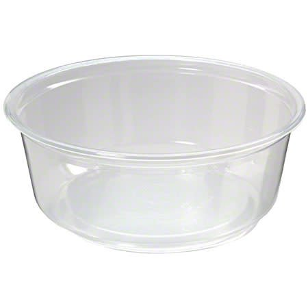 NetChoice Deli Container, 8oz. Clear Container 10/50ct. Case
