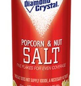 Popcorn & Nut Salt, White 24 oz. Canister
