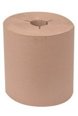 Roll Towel, Tork Universal Brown Hand Towel Roll 6/1000' Case