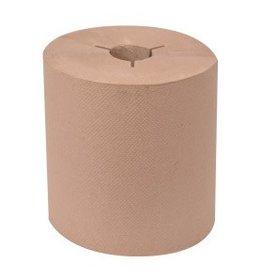TORK Roll Towel, Tork (H80) Universal Brown Hand Towel Roll 6/1000' Case