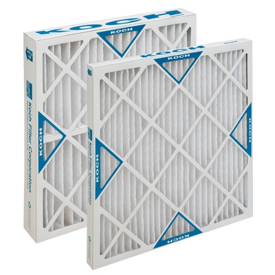 "Koch Filter Filters, Multi-Pleat XL 16""x25""x1"" 12ct. Case"