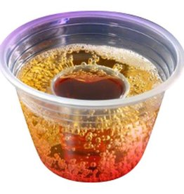 Fineline Settings Inc. Shot Cup, Clear Party Dispos-a-Bomb Shot Cup 25ct. Sleeve