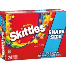 WM. WRIGLEY JR. COMPANY Skittles, Original King Size 24ct. Box