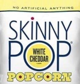 SKINNYPOP POPCORN LLC Skinnypop Popcorn, White Cheddar, 12/1oz. Case