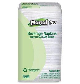 Napkin, White Beverage Napkins 8/500ct. Case