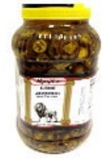RONSON FOODS Jalapeno Pepper Slices, 1 gallon