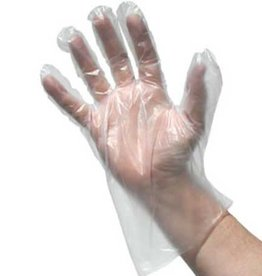 PRIME SOURCE Gloves, Large Disposable Pack 100ct. Box