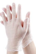 PRIME SOURCE Gloves, Powdered  Vinyl, X-Large 10/100ct. Case