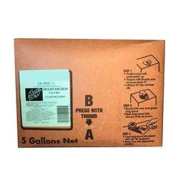PEPSI COLA CORP Mountain Dew BIB 5 Gallon