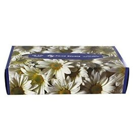PRIME SOURCE Facial Tissue, Flat Box 100ct. Box
