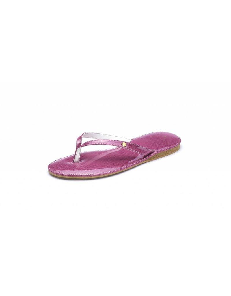 Folly Feet Folly Feet Flip Flop - Patent Purple