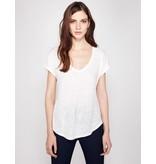 Winser London WL- Pure Linen V-Neck T-Shirt