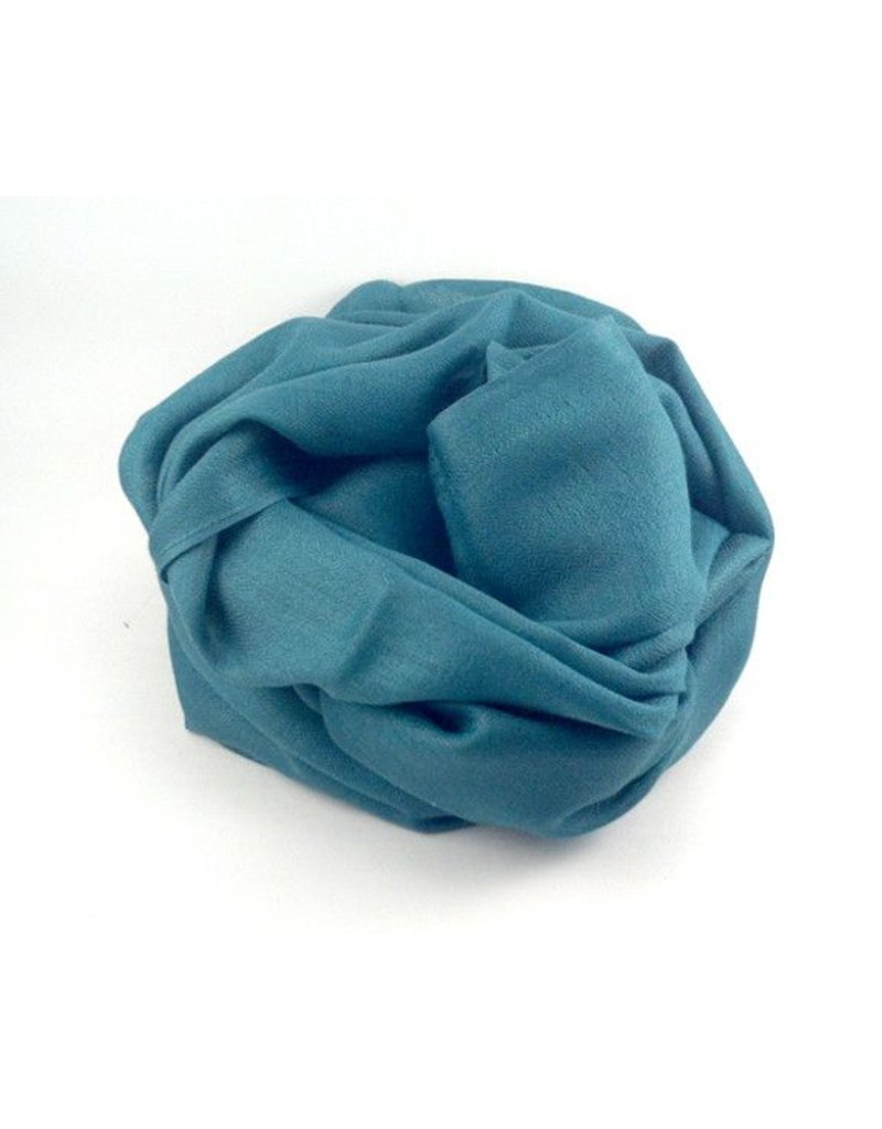 Flats Fine Cashmere Scarf- Mid Green